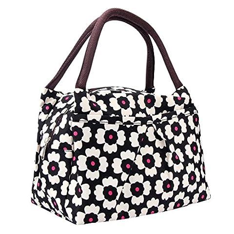 FEITONG Nouveaux Mode sacs à lunch pratique Lunch Packet Portable (H)