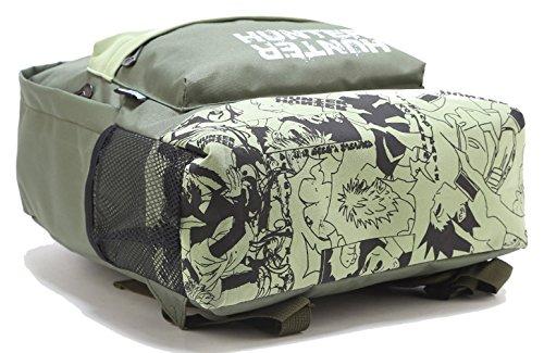 Keshi leinwand cool maedchen rucksack schulranzen grau