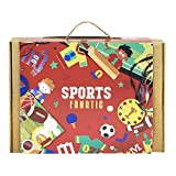 JackInTheBox Sports Fanatic 3-In-1 Craft Kit For Kids: Summer Gift For Boys and Girls Ages 5 Years And Up