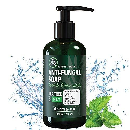 Antifungal Seife mit Tea Tree Öl & Active Inhaltsstoffe helfen Treat & Wash Away Athleten Fuß,...