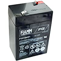 Fiamm FG10451 batteria al piombo acido 6 volt, 4500mAh