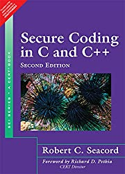 Secure Coding in C and C++, 2/e