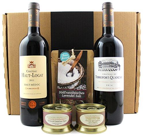 Allez la France – Geschenkidee / Weihnachtsgeschenk / Firmenpräsent – Wein-Moment