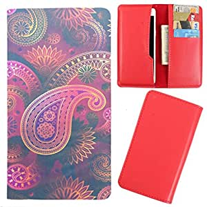 DooDa - For Micromax Canvas Xpress A99 PU Leather Designer Fashionable Fancy Case Cover Pouch With Card & Cash Slots & Smooth Inner Velvet