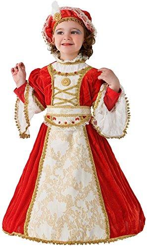 COSTUME di CARNEVALE da ELISA DI RIVOMBROSA BABY vestito per bambina ragazza 1-6 Anni travestimento veneziano halloween cosplay festa party 2130 Taglia 5