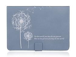 Cet étui en cuir pour iPad mini s'adapte parfaitement à la forme de votre tablette. Il sert non seulement de protection, mais également de support : repliez-le et vous pourrez écrire, lire ou regarder des vidéos en toute liberté. L'étui est équipé d'...