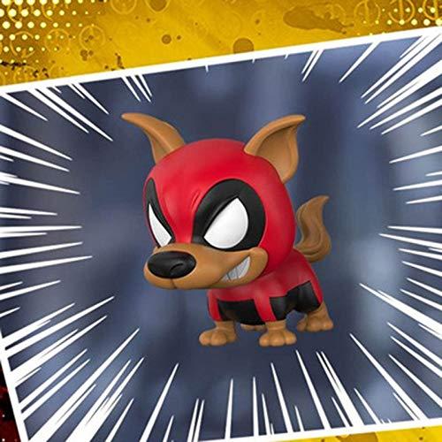 SSRS Avengers 4 Spider-Man Hand COS Venom Schlachtung Schütteln Kopf Puppe Modell Auto Dekoration Spielzeug (Farbe : Dead Dog) (Venom-kopf)