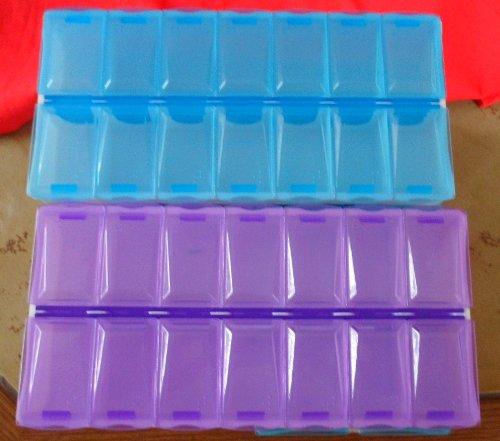 Universal/DVD Aufbewahrungsboxen für: Bsp: Tabletten