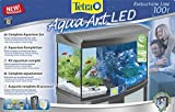 Tetra AquaArt Evolution Line LED Aquarium-Komplett-Set 100 Liter anthrazit (moderne LED Beleuchtung, integrierte Tag-Nachtlichtschaltung, gebogene Frontscheibe) - 2