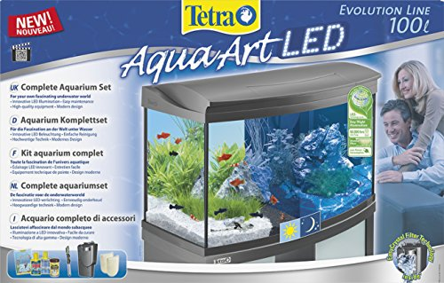 Tetra AquaArt Evolution Line LED Aquarium-Komplett-Set 100 Liter anthrazit - 2