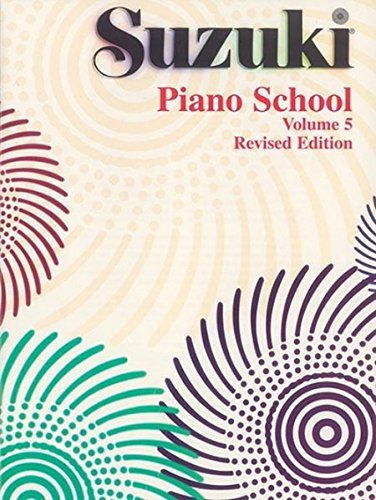 Suzuki Piano School Volume 5 Revised Édition Piano