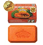 Asantee Papaya Skin Whitening Herbal Soap Thai Plus Honey 135g (Pack of 4 Pcs.) by Asantee