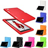 Colorful Tablet Hülle 10.1 Universal Ultra Slim Schutzhülle Silikon Case Cover für 10.1 Zoll Android Tablet PC