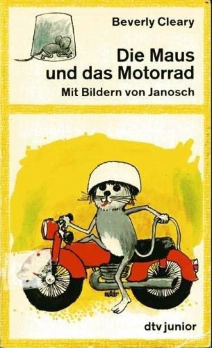 Die Maus und das Motorrad.