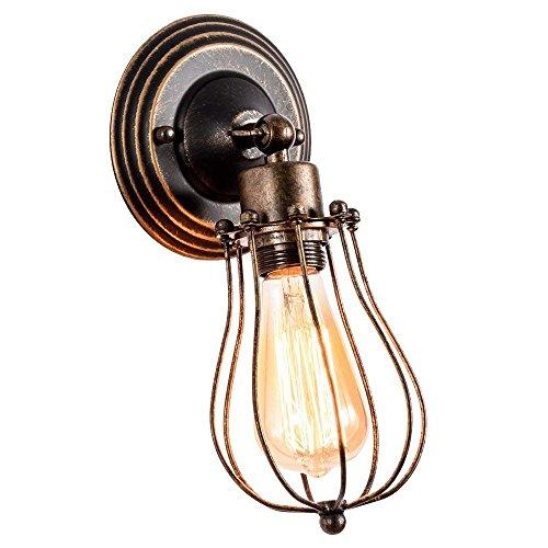 Apliques Pared Vintage Ajustable Metal Lampara Rustica