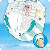Pampers Splashers Größe4-5, 11Einweg-Schwimmwindeln - 7