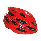 Baoblaze Erwachsene Fahrradhelm Radhelm - Rot