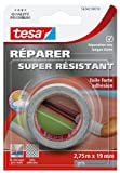 Tesa 56342-00010-01 Réparer Super Résistant Toile Forte adhésion 2,75 m x 19 mm Gris