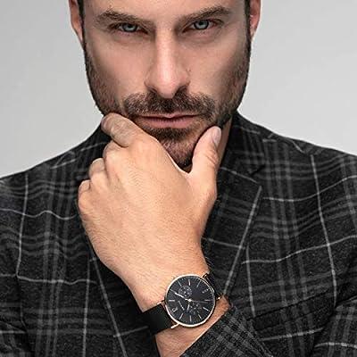 BERING Reloj Analógico para Hombre de Cuarzo con Correa en Acero Inoxidable 14240-163 de BERING