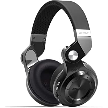 Bluedio T2VBCA01 T2+ (Turbine 2 plus) Bluetooth Wireless Headphones with  Micro SD FM Radio Function (Black) 7d5fce963c