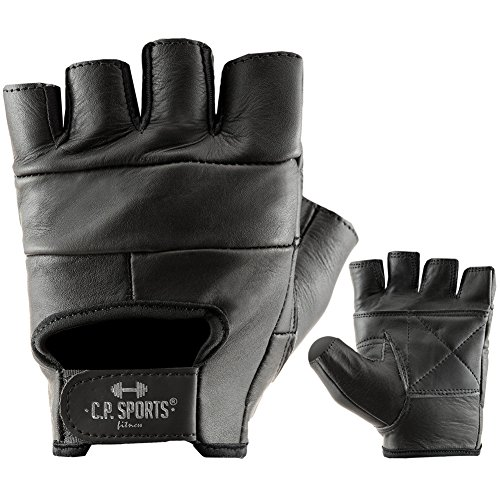 Trainings-Handschuh Leder F1 Gr.M - Fitness-Handschuhe, Krafttraining & Bodybuilding, C.P.Sports
