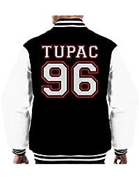 Tupac Shakur 96 Sports Number Men's Varsity Jacket