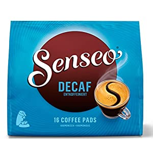 Find Senseo Decaffeinated, New Design, Pack of 2, 2 x 16 Coffee Pods from Douwe Egberts