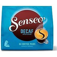 Senseo Decaf / Descafeinado, Monodosis de Café, 16 Unidades, Nuevo Diseño