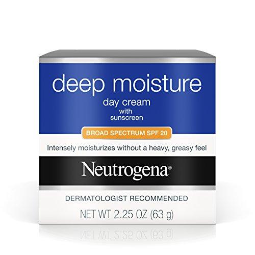 Neutrogena Deep Moisture Day Cream SPF 20, 2.25 Ounce (Pack of 1)