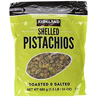 Kirkland Signature Nuts Dry Roasted and Salted Shelled Pistachios Pack 680g