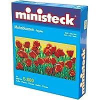 Ministeck 31894 - Mosaico su tela, soggetto: Campo di papaveri, circa 5600 tasselli con accessori