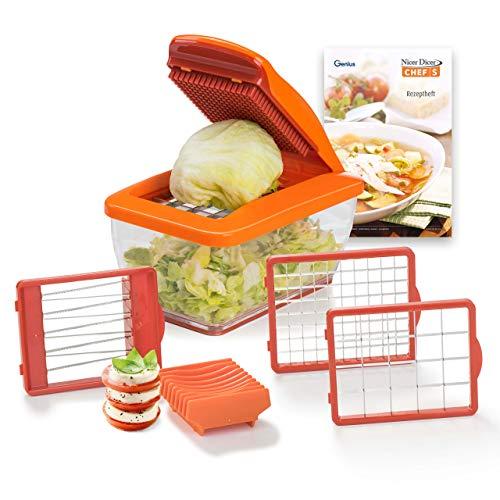 Food Processor   Zwiebel Zerkleinerer   Mandoline Gemüseschneider 8 in 1   Alles Schneider zum Gemüse in Würfel schneiden