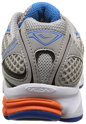 Saucony Jazz 17, Scarpe sportive, Uomo Grey/Orange/Blue