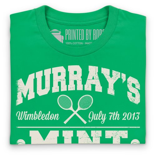 Murray's Mint T-Shirt, Herren Keltisch-Grn