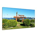 Stadt Port Hardy Vancouver Garten Schiff Leinwand Poster Druck Bild uu1352 140x70