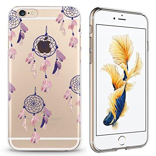 Panelize iPhone 6 Indianer Hülle Schutzhülle Handyhülle Hard Case Cover Kratzfest Rutschfest Durchsichtig Klar (Mandala) Traumfänger