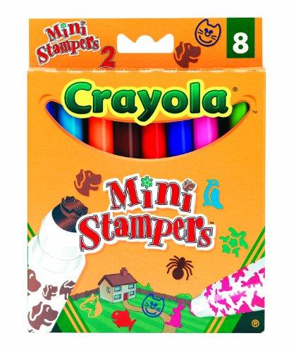 Crayola 03.8125 - Tier-Stempel (Hund Sammelkarten)