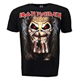 Iron Maiden Eddie Candle Finger T-shirt Official Licensed Music
