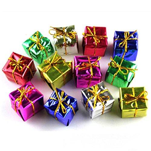 (Kolylong® 12PC Fashion Weihnachtsbaum Ornamente Dekorationen)