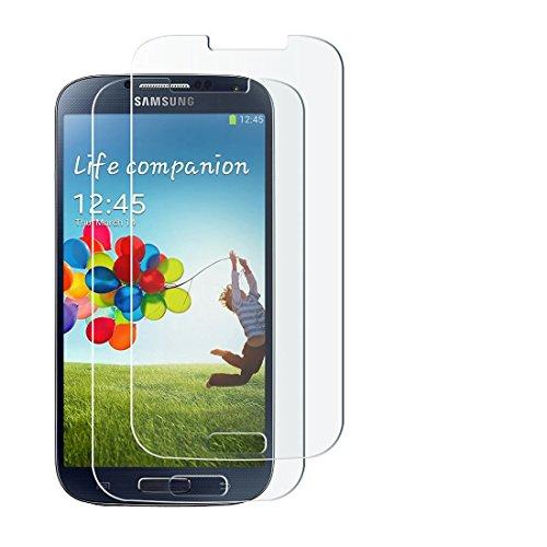 [1 Stück] Samsung Galaxy S4 Mini Schutzfolie Panzerglas, wortek Panzerfolie [Anti-Kratz, Ultra-Clear] 9H Displayschutz Schutzglas