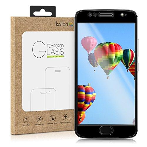 kalibri-Echtglas-Displayschutz-fr-Motorola-Moto-G5S-3D-Schutzglas-Full-Cover-Screen-Protector-mit-Rahmen-Glas-Folie-auch-fr-gewlbtes-Display-in-Schwarz