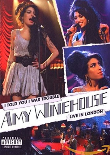 Amy Winehouse - Back To Black/ I Told You I Was Trouble (Größe Spanisch In)