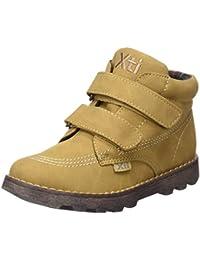 Xti Botin Niño/a C. Camel ., Chaussures avec fermeture velcro  mixte enfant