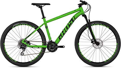 Ghost Kato 3.7 AL U 27.5R Mountain Bike 2019 (L/50cm, Riot Green/Night Black) (Ghost Fahrrad)