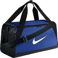 Nike Nk Brsla S Duff Bolsa de Deporte, Hombre, Azul (Game Royal/Black/White), Talla Única