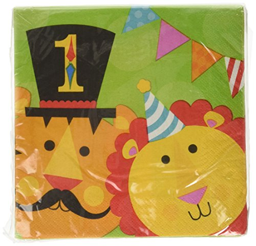 Amscan International Paquet de 8 Serviettes en papier 33 cm Fisher Price Circus