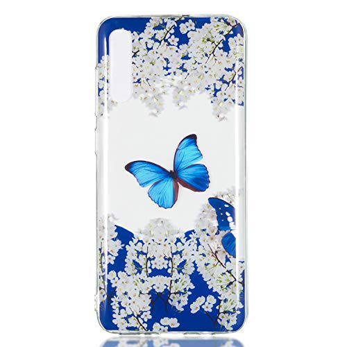 LeviDo Funda Compatible para Samsung Galaxy A70 2019 Silicona Transparente TPU Gel...