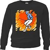 Reifen-Markt Sweatshirt Herren Motiv 6260 Farbe Schwarz Größe M