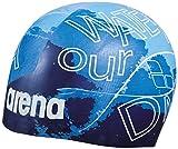 arena Poolish Moulded, Badekappe Herren, Blue-DNA, Tu