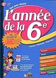 Image de ANNEE DE LA 6E + LIVRET JEUX